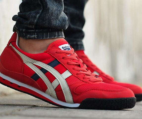 Onitsuka Tiger Ultimate 81 Red Sneaker Dress Shoes