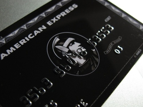 American Express Centurion Card aka Black Card - Must have a personal income of $300 000 / year to apply.