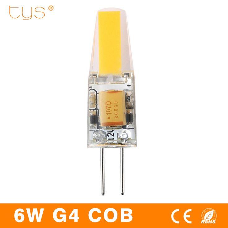 $1.00 (Buy here: https://alitems.com/g/1e8d114494ebda23ff8b16525dc3e8/?i=5&ulp=https%3A%2F%2Fwww.aliexpress.com%2Fitem%2FLED-Lamp-G4-3W-6W-bombillas-Led-12V-Light-Bulbs-COB-Chip-DC12V-AC220V-High-Bright%2F32793679624.html ) bombillas LED Lamp G4 3W 6W Led 12V Light Bulbs COB Chip DC12V AC220V High Bright For Chandelie lampada Ampoule LED COB Lamp for just $1.00