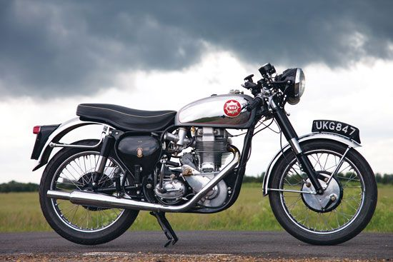 DIY BSA: 1959 BSA DBD34 Gold Star - Classic British Motorcycles - Classic Motorcycles