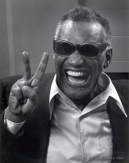 Ray Charles, by Mickey Adair (1982)                              …