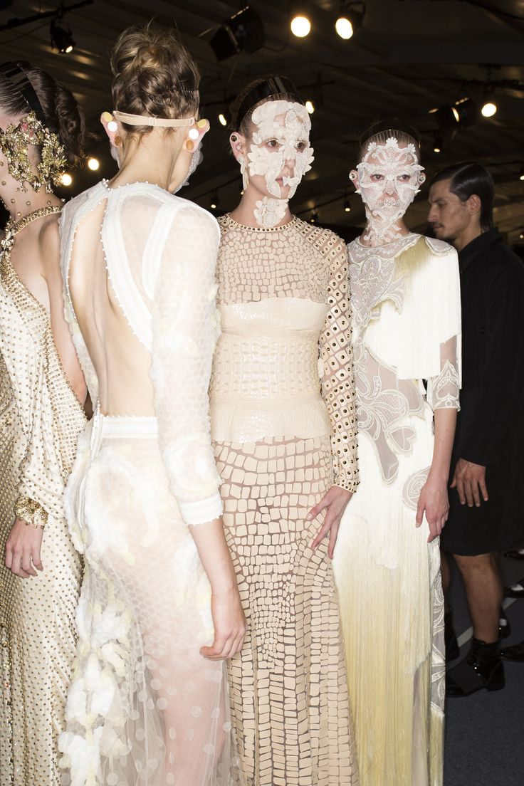 See every look backstage at Givenchy Spring 2016