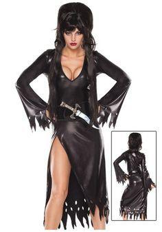 Sexy Elvira 'Mistress of the Dark' Costumes, Accessories, Hair and Make-Up tutorials.