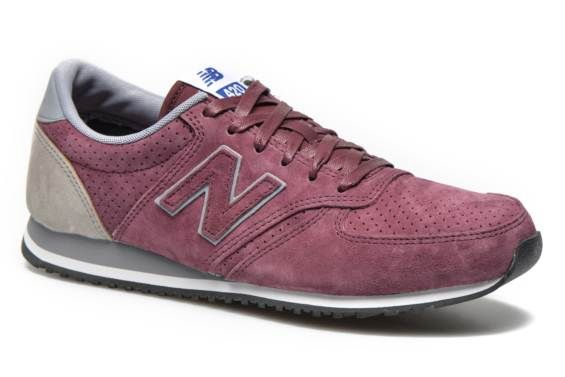 New Balance U420 W (Bordeaux) - Baskets chez Sarenza (238294)
