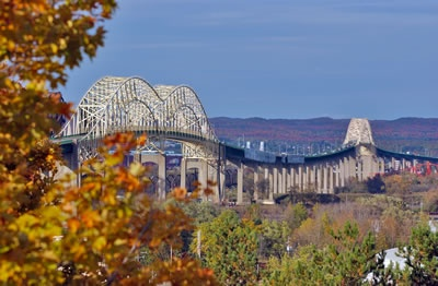 International Bridge, Sault Sainte Marie, Michigan to Sault Sainte Marie, Canada