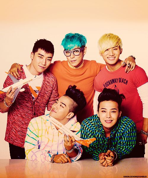 seungri top daesung taeyang gd - Big Bang I don't have an ultimate bias because I can't choose between them all