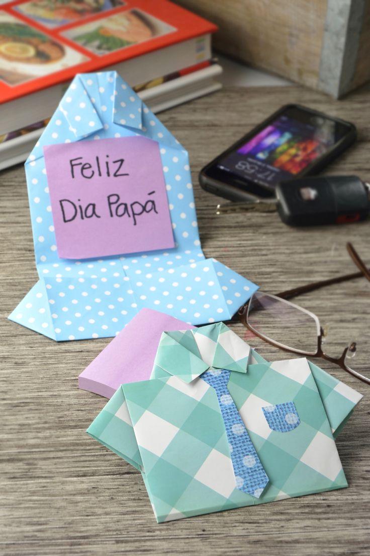 Cómo hacer una tarjeta para el día del padre | Desea a papá un feliz día con estas tarjetas que podrás hacer fácilmente.