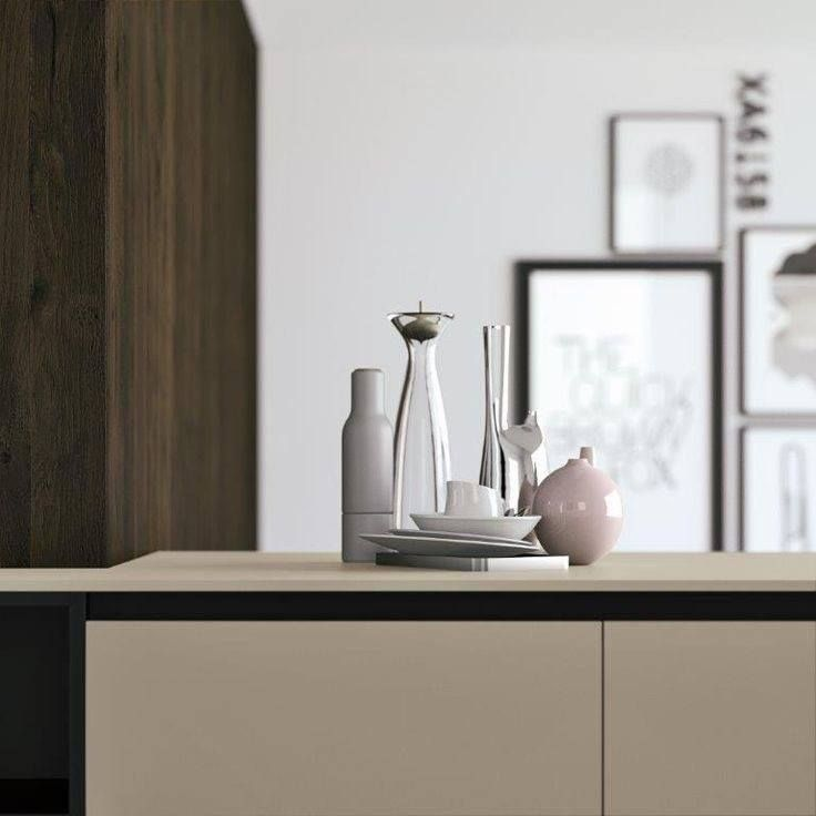 Kitchen top in Castoro Ottawa (0717) a simple yet timeless look.