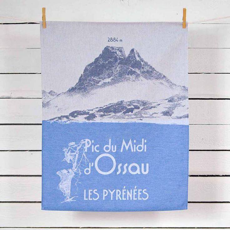 Ossau série montagne tissage moutet linge de maison français www tissage