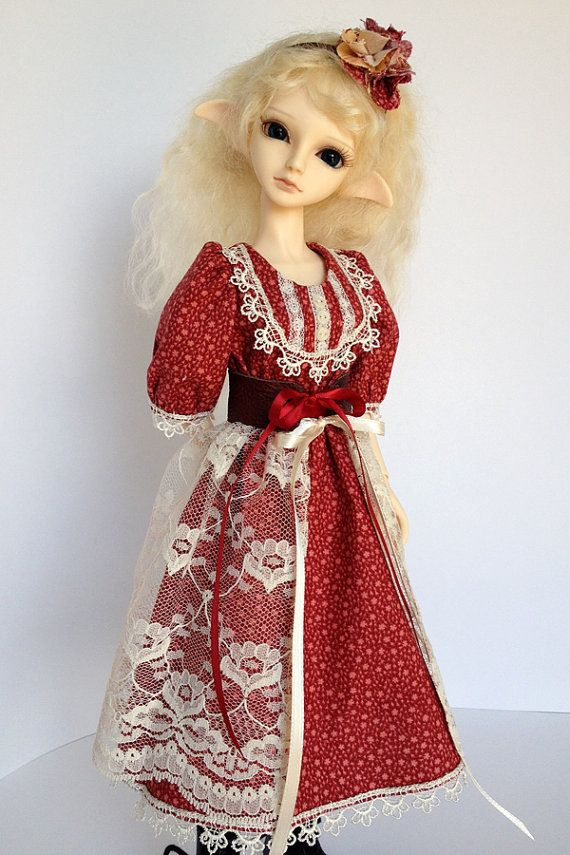 Dress Outfit for MSD BJD Romantic Mori Styling by AdrianneInspired, $40.00