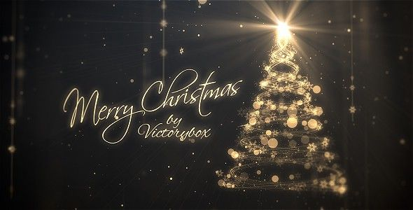 Christmas Logo Holiday Logo Merry Christmas And Happy New Year After Effects Projects