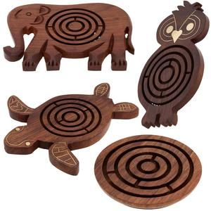 Rosewood Labyrinth Game