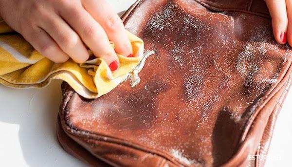 1 Truco casero para eliminar las manchas en bolsos de cuero