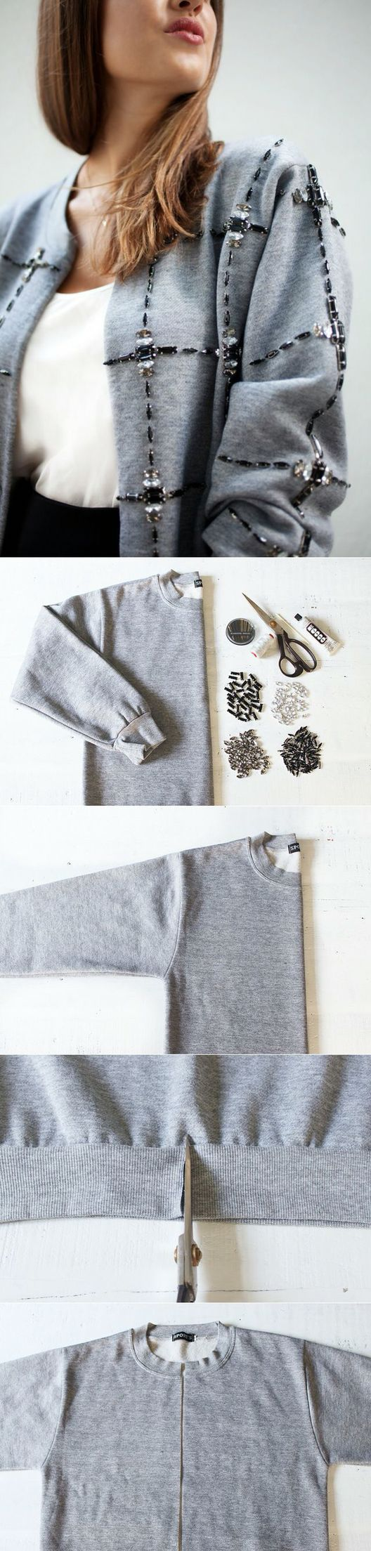 Diy sweatshirt