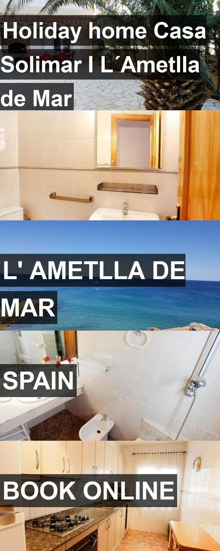 Hotel Holiday home Casa Solimar I L´Ametlla de Mar in l' Ametlla de Mar, Spain. For more information, photos, reviews and best prices please follow the link. #Spain #l'AmetlladeMar #HolidayhomeCasaSolimarIL´AmetlladeMar #hotel #travel #vacation