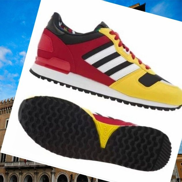 Sportswear for women Adidas Zx 700 yellow/red/black/white HOT SALE! HOT PRICE!