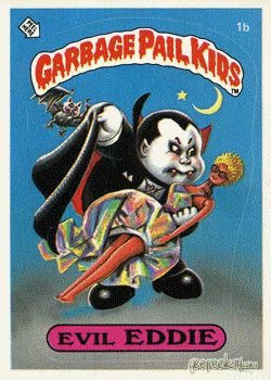 Garbage Pail Kids Series 1 - All the b side cards.