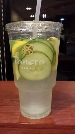 I was at a luncheon the other day and my friend Marisue had this wonderful water for us to drink! She said she first found out about this cool drink at a day spa. The pitcher of water looks beautiful with the lemon and cucumber and the taste is divine! Its so easy and it really does add refreshing elements to your water!
