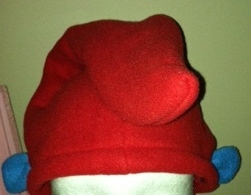 Papa Smurf Birthday Party Costume Hats PAPA SMURF. $8.00, via Etsy.