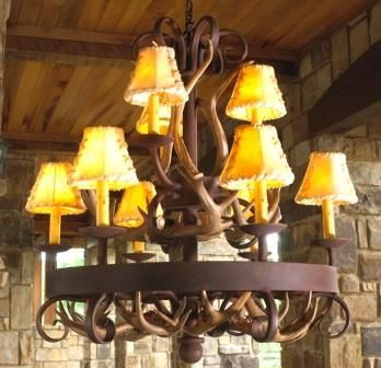 17 best images about log home lighting on pinterest Log cabin chandelier