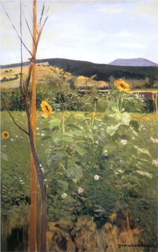 Sunflowers - Jacek Malczewski