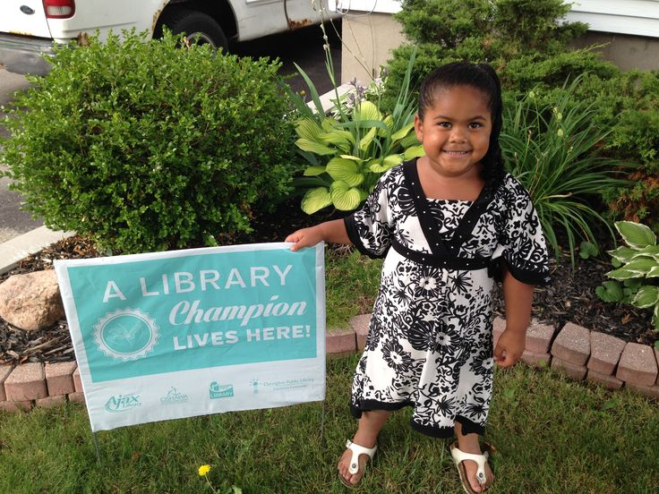 This cute-as-a-button Library Champion is Akaysha from Oshawa!  Congratulations Akaysha, you're doing a great job and we're all very proud of you here!  Come visit us again soon and keep reading!
