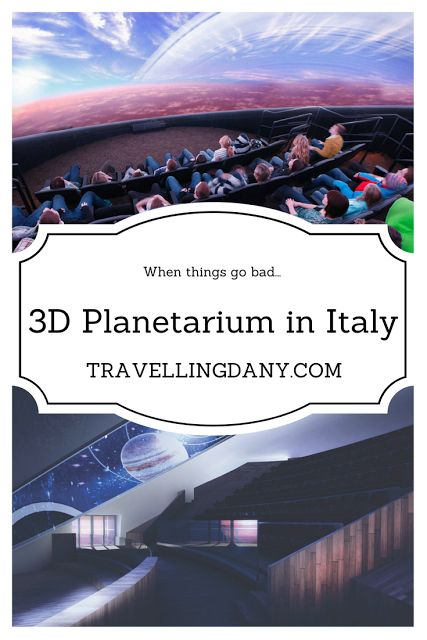 The first 3D Planetarium in Italy: Naples and the management issues