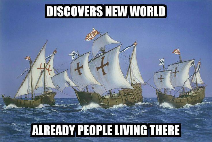 #ChristopherColumbus #NewWorld #memes #graphicdesign #marketing #advertising…