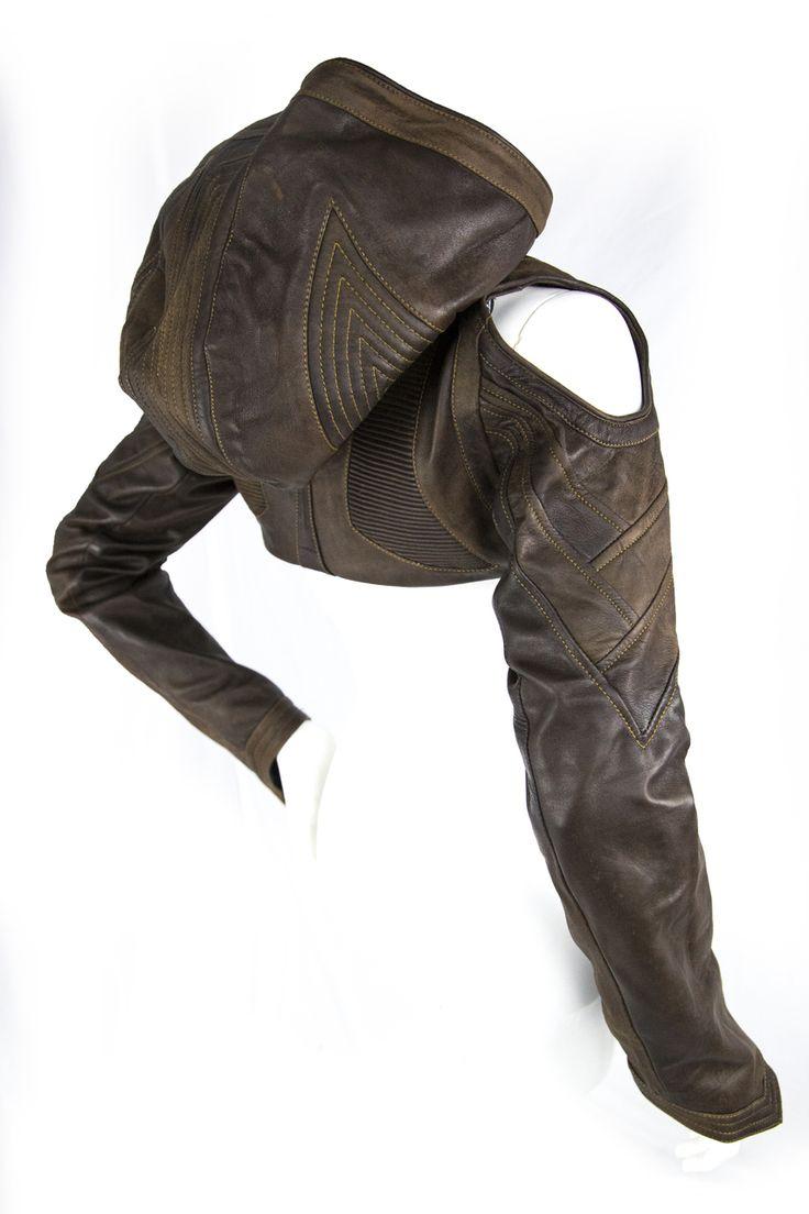Heiress Crop Jacket 2.0 (Full Leather) - AYYAWEAR