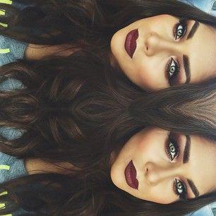 Bold Fall Makeup.