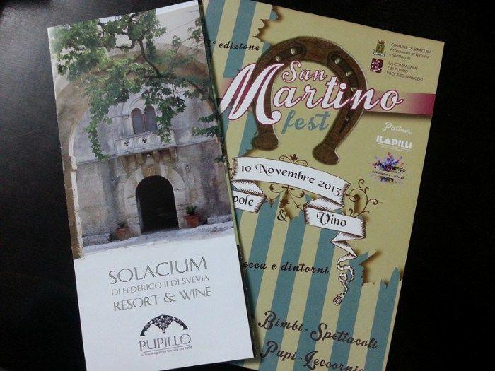 San Martino tra zeppole e vino #pupillo #sanmartinofest #food #wine #event