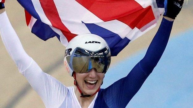 Elinor Barker won Great Britain's second gold of the Track Cycling World Championships in Hong Kong with victory in the women's 25km points race.  Barker, who has also won silver medals in the madison and scratch races at the championships, produced a stunning late burst to pip America's Sarah Hammer.