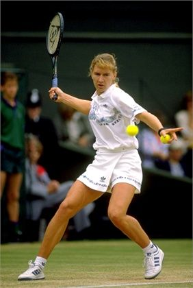 Steffi Graf, 1989!The one and only unrivalled forehand!
