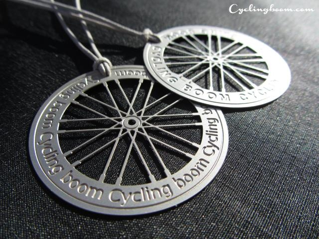 Bicycle Wheel Necklace   Cycling boom products