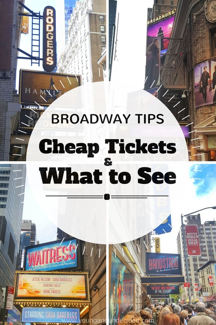 Broadway is magical But also EXPENSIVE Here