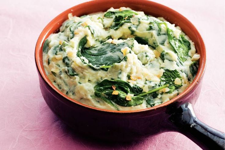 Puree met spinazie en ricotta - Recept - Allerhande
