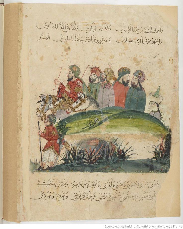 Folio 30 Verso: maqama 12. al-Harith travelling