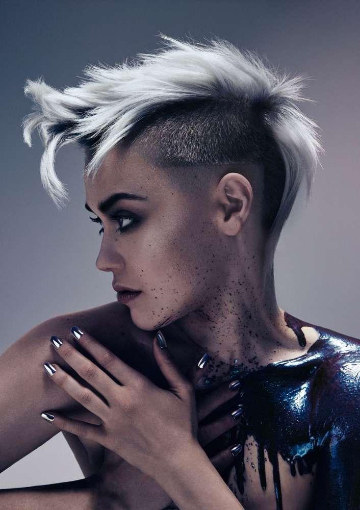 Причёски и стрижки: фото из коллекции Коллекция AFTERMATH