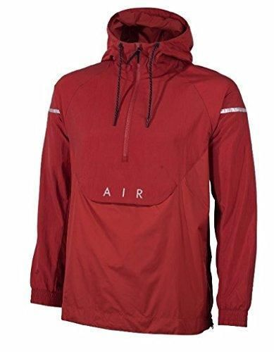 3a51d5ecf41c Nike Air Max Men s M L Pullover Jacket Windrunner 832156 674 Cayenne  100   Nike  CoatsJackets