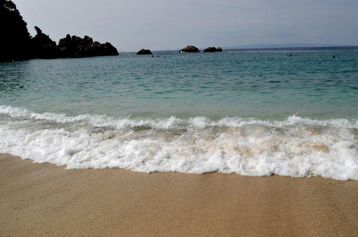 Sarakiniko beach, Parga, Greece, summer