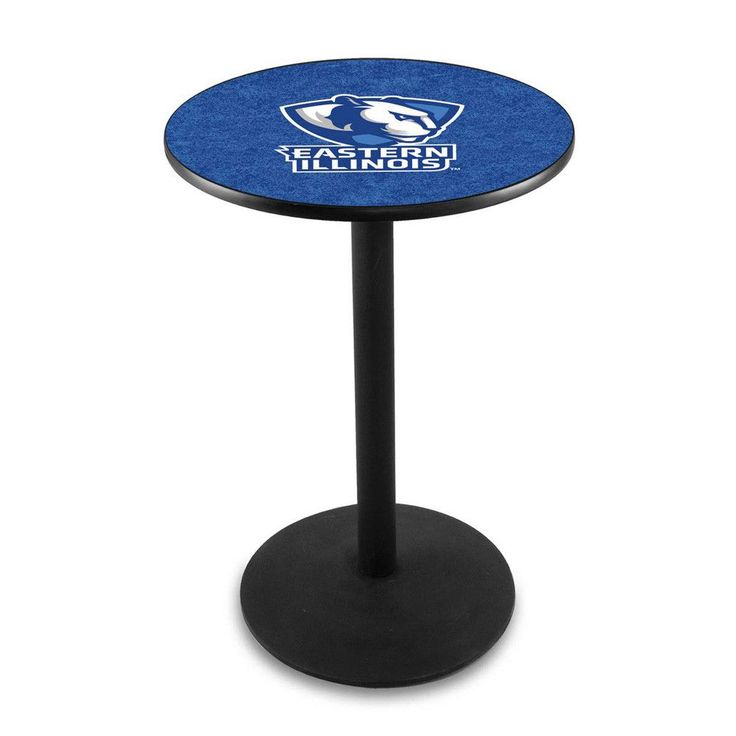Eastern Illinois Panthers Outdoor Table w/ Black Wrinkle Base