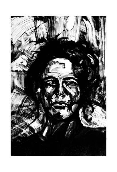 Mariano Espinosa.: Monotipos VIII: Retratos.