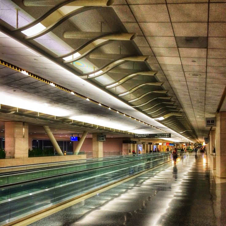 Lines... San Francisco International Terminal, CA, USA...