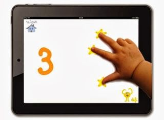 App para trabajar las matemáticas: Se llama, 10 dedos y es gratuita sirve tanto para apple como android. Esta aplicación ofrece al niño un juego intuitivo para familiarizarse con las cifras y los números. Incluso comenzar a divertirse realizando sumas sencillas. Se puede instalar tanto en tablets como en moviles.