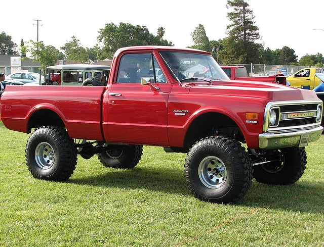 1970 Chevrolet 4X4 Pickup... beautiful!