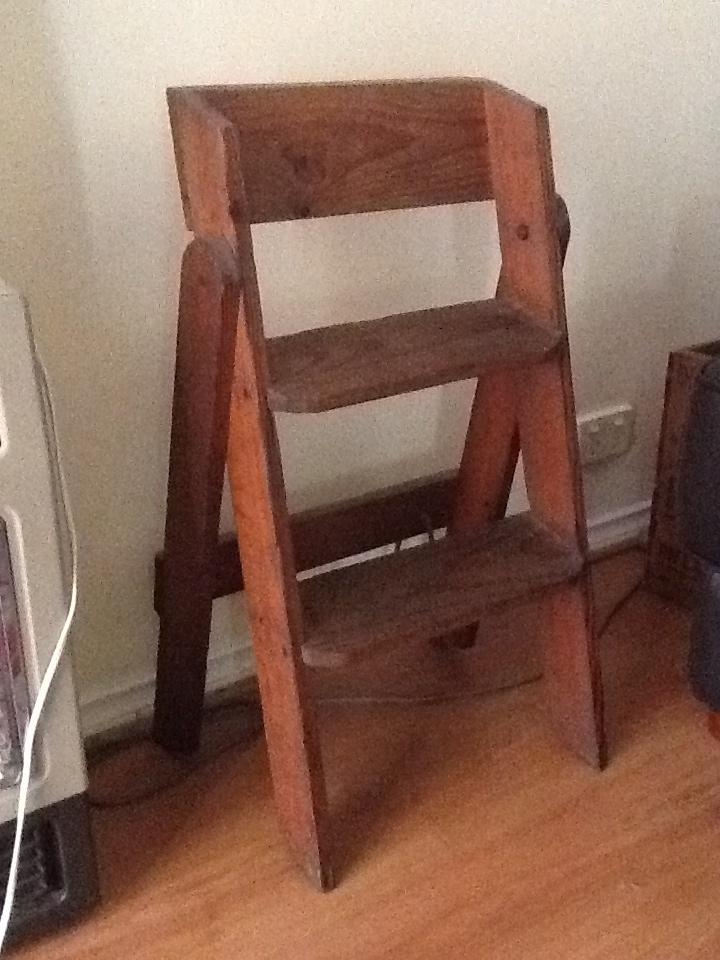 My Old Wooden Step Ladder Vintage Finds Pinterest