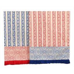 Farmhouse Dishtowels Red & Blue Set