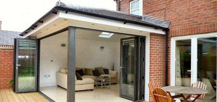 Bi folding doors Newcastle Extension