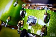 Yamaha Drum Set - Gigmaker in White Grape Green Glitter - Lancaster Music - Gainesville, Georgia