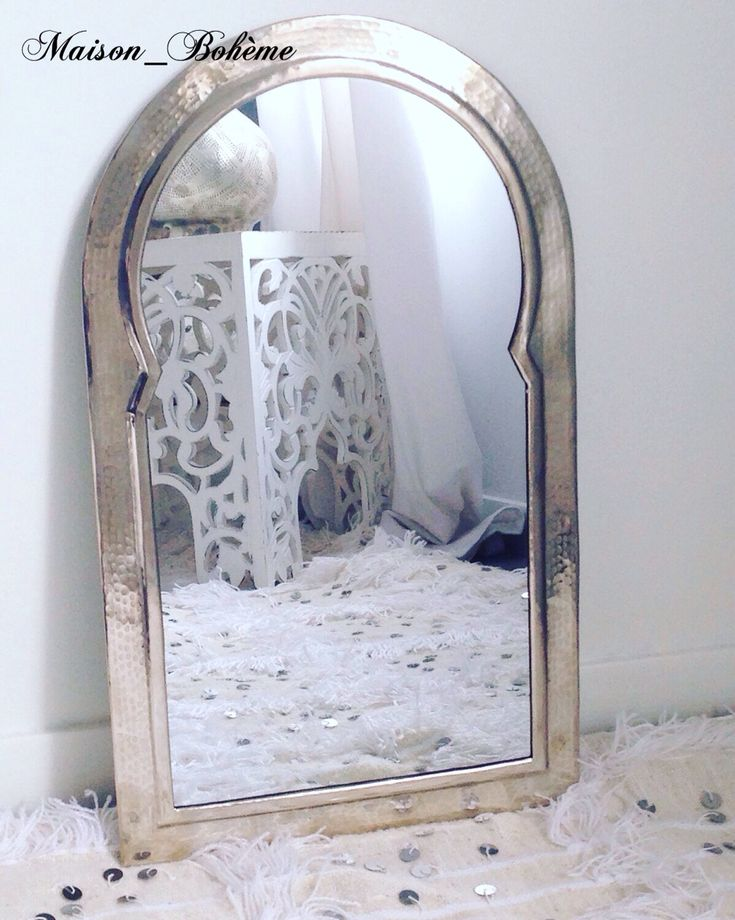 1000 id es sur le th me moroccan mirror sur pinterest for Miroir boheme